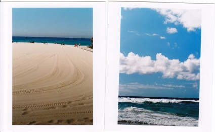 Perfectly manicured beaches at Bondi + more blue skies & water